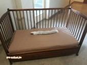 Бебешко легло 70/140 см с много екстри